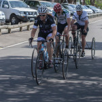 First lap into the crit