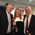 With Dean Jones and Alan Border