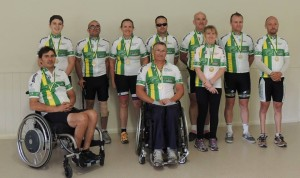 Series Leaders after Round 2 - National Para-Cycling Series 2014