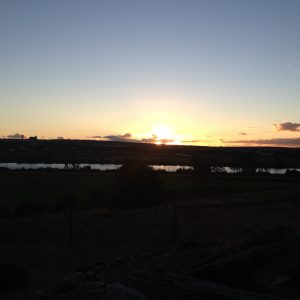 Sunset over the Murray!
