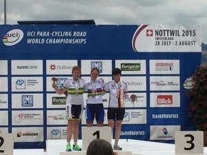 Podium with me, Jill, Jana