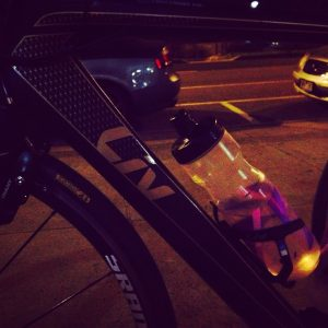 Early morning rides before the sun comes up.