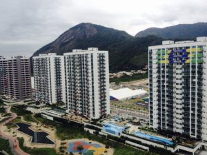View of the Paralympic village from my balcony