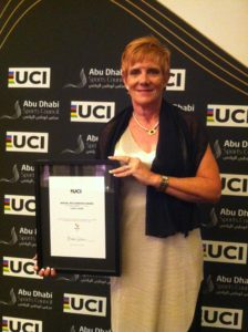 With my Certificate of Recognition Award