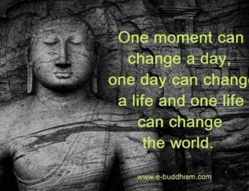 A Moment to Change a Life