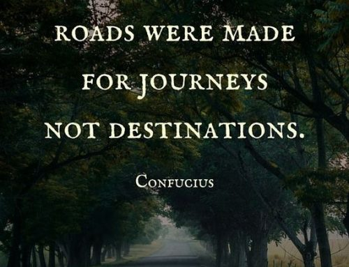 It's All About the Journey